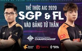 Đấu trường quốc tế AIC 2020: Team Flash và Saigon Phantom đều phải bung sức ngay từ vòng bảng nếu không muốn bị loại sớm