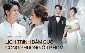 Lịch trình đám cưới Công Phượng - Viên Minh mới nhất: Nhà trai làm lễ xin dâu sáng 16⁄11