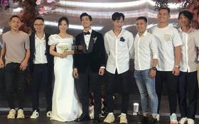 Dàn sao tuyển Việt Nam rạng ngời đến dự đám cưới Công Phượng - Viên Minh
