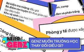 Ngày 20/11, GenZ hội ý: Tôi muốn trường học thay đổi điều gì?