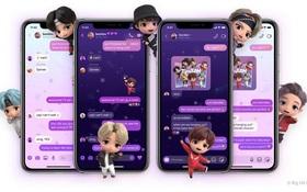 Messenger có theme BTS mới cực xịn sò, ARMY đã thử chưa?