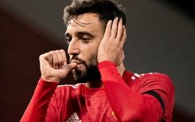 Bruno Fernandes lập cú đúp giúp MU thắng 4-1 ở Champions League