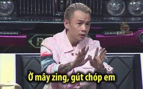 """Cười xỉu với bộ sưu tập """"Ờ mây zing, gút chóp em"""" của Binz tại Rap Việt!"""