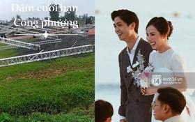 """Hé lộ ảnh hiếm đầu tiên về đám cưới của Công Phượng ở quê nhà Nghệ An, liệu có có """"khủng"""" như Phú Quốc và TP.HCM?"""