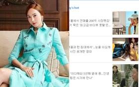 """Hot nhất Dispatch sáng nay: Jessica Jung """"cá kiếm"""" doanh thu trăm tỷ, thành nữ đại gia gây ngỡ ngàng nhất Kbiz sau khi rời SNSD"""