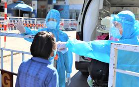 """Cô gái Đồng Tháp nhập cảnh """"chui"""", đi cùng xe với BN1440 dương tính lần 1 với SARS-CoV-2"""