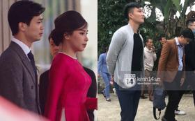 Trực tiếp đám cưới Công Phượng tại Nghệ An: Cô dâu chú rể lên xe 7,4 tỷ đến hôn lễ, thủ môn đầu tiên trong dàn khách mời đã lộ diện