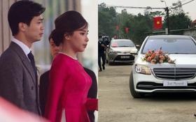 Trực tiếp đám cưới Công Phượng tại Nghệ An: Tân lang tân nương vào làm lễ ở nhà thờ họ, hàng xóm nô nức vui như trẩy hội