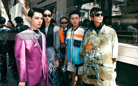 """Các nhóm hội so kè street style siêu """"gắt"""" trong ngày 3 Aquafina Vietnam International Fashion Week 2020"""