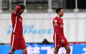 Liverpool bất lực trong trận đấu cuối cùng của năm, rơi vào tình thế đáng báo động