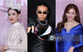 """Wowy đánh móng tay xanh, diện đồ """"ngầu lòi"""", Lâm Khánh Chi """"chặt chém"""" đàn em ác liệt tại AVIFW ngày 2"""