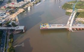 """Tổng vốn đầu tư hơn 3.000 tỷ, vì sao cầu Thủ Thiêm 2 vươn tới giữa sông thì... """"đứng hình""""?"""