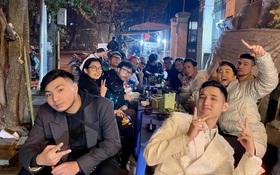 """Karik rủ hội bạn đi ăn sau đêm """"quẩy"""" nhiệt ở Tạ Hiện, ai dè cặp đôi MCK - Tlinh và vợ chồng JustaTee chiếm trọn spotlight"""