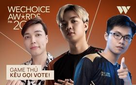 """Game thủ⁄ Streamer Việt đang """"sốt xình xịch"""" với cuộc chiến kêu gọi bình chọn tại WeChoice Awards 2020, fan hưởng ứng cực nhiệt!"""