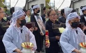 Cập nhật lễ an táng ca sĩ Vân Quang Long tại Đồng Tháp: Con gái lớn ôm tro cốt, vợ cũ để tang, Linh Lan không xuất hiện