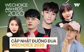 """Thế trận """"nghẹt thở"""" trước giờ WCA 2020 đóng cổng vote: Jack - Sơn Tùng, Hải Tú - Tlinh so kè khốc liệt, tất cả hạng mục đều khó lường"""