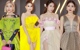 Siêu thảm đỏ WeChoice Awards 2020: Ngọc Trinh lộng lẫy phủ vàng cả sự kiện, Lệ Quyên công khai sánh đôi cực tình tứ bên Lâm Bảo Châu