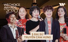 Top 5 Đại sứ truyền cảm hứng gửi lời chia sẻ chân thành trong đêm Gala WeChoice Awards 2020