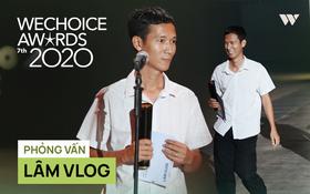 Lâm Vlog nói về đôi dép lê khi lên sân khấu Gala WeChoice: Mình không giả nghèo, đó là phong cách riêng