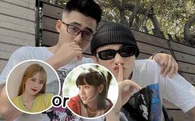 Em trai Sơn Tùng follow ai trong số 2 cô gái đang ầm ĩ: Thiều Bảo Trâm hay Hải Tú?