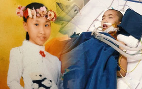 """Cô bé 12 tuổi phẫu thuật não để điều trị ung thư: """"Trước đây con xinh lắm, giờ xạ trị nhiều nên chẳng còn tóc nữa"""""""
