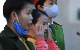 Xét xử phúc thẩm mẹ nữ sinh giao gà: Bị cáo Hiền bật khóc kêu oan