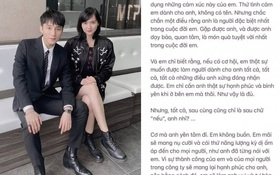 """Nghi vấn Hải Tú gửi 4-5 trang mail tỏ tình cho Sơn Tùng: """"Em xin lỗi vì đã tỏ tình khi anh đang yêu người khác"""""""
