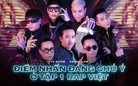 Tóm gọn tập mở màn Rap Việt mùa 2: 3 nón vàng, 1 hiện tượng mạng và cú lừa khán giả phút chót!