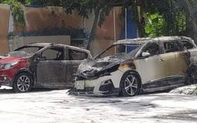 Nghi ngờ vợ có quan hệ tình cảm với sếp, chồng mua xăng đốt xe tình địch ở TP.HCM