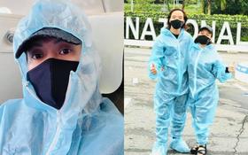 Lo xong hậu sự Phi Nhung và mẹ nuôi, vợ chồng NS Việt Hương về đến Việt Nam giữa loạt thông tin tiêu cực bị lan truyền!