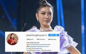 Thúy Vân bất ngờ xóa danh hiệu Á hậu 2 và hình thi Miss Universe Vietnam 2019, chuyện gì đây?