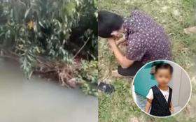 Hiện trường nơi tìm thấy thi thể bé trai 2 tuổi mất tích ở Bình Dương: Người thân suy sụp, ngồi bệt xuống đất bật khóc