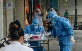 Hà Nội: 4 F1 tại một chung cư trên phố Minh Khai dương tính SARS-CoV-2, liên quan cô gái F0 về từ TP.HCM