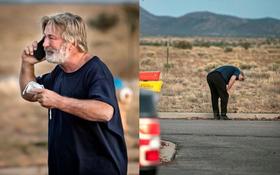 Nhói lòng hình ảnh tài tử Alec Baldwin bật khóc sau khi bị điều tra vì bắn chết người kinh hoàng ở phim trường