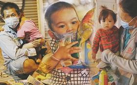 """Vợ mất vì Covid-19, chồng cùng 3 đứa con nhỏ đi lượm ve chai ở Sài Gòn: """"Con thích đến trường học chữ lắm..."""""""