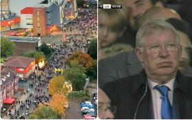 Hàng ngàn khán giả ùn ùn bỏ về giữa trận cầu thảm bại của MU trước Liverpool: Đá như vậy thì về cũng đúng thôi