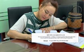 Ca sĩ Vy Oanh nộp đơn yêu cầu khởi tố bà Nguyễn Phương Hằng