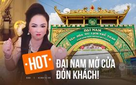 """NÓNG: Bà Phương Hằng thông báo mở cửa trở lại khu du lịch 6000 tỷ Đại Nam, giữ lời hứa tri ân những ai """"follow"""" nữ streamer 50 tuổi!"""