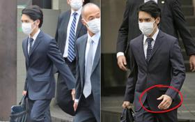 Hôn phu của Công chúa Nhật Bản xuất hiện lịch lãm trong ngày cưới, rời nhà đi gặp cô dâu, netizen tinh mắt soi ra chi tiết đặc biệt trên tay