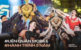 """Nhìn lại hành trình nửa thập kỷ của Liên Quân Mobile: """"Luôn vững vị thế số 1 của eSports Việt"""""""