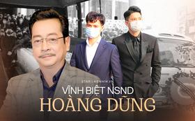 Tang lễ cố NSND Hoàng Dũng: NS Xuân Bắc - Huỳnh Anh cùng dàn nghệ sĩ đến tiễn biệt, linh cữu được đưa đi an táng