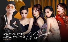 Nhan sắc dàn bạn gái quá hot của G-Dragon: Jennie át cả minh tinh Joo Yeon về độ sexy, 2 nàng thơ Nhật Bản khuynh đảo châu Á