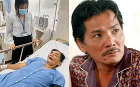 Diễn viên Thương Tín đột quỵ nhập viện cấp cứu tại bệnh viện quận 12, sức khoẻ rất yếu
