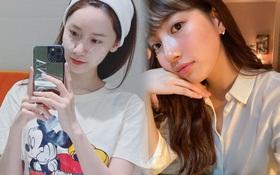 """Yoona và loạt sao Hàn hé lộ cách rửa mặt """"sạch sành sanh"""", áp dụng theo để loại bỏ đám bã nhờn đáng ghét!"""