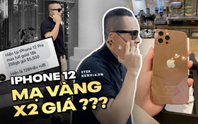 Khui giá thật của chiếc iPhone 12 Pro Max mạ vàng 250 triệu Vũ Khắc Tiệp vừa khoe, sao bên chế tác báo giá chỉ 126 triệu?