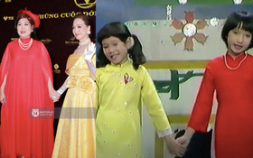 """Từ hai bé vàng đỏ nắm tay nhau hát """"Mừng Xuân Mới"""", nay đã thành NSND Hồng Vân và NSND Lê Khanh đi xem Gái Già Lắm Chiêu V?"""