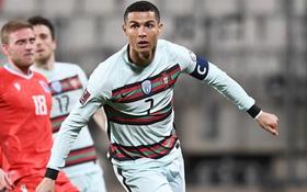 """Ronaldo ghi bàn giúp Bồ Đào Nha ngược dòng hạ """"nhược tiểu"""" Luxembourg"""