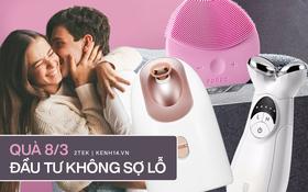 Quà tặng 8/3: Hàng loạt máy rửa mặt, nâng cơ mà chị em thích mê đang được sale với giá cực tốt, các anh còn đợi gì nữa?