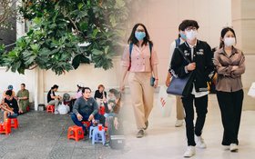 """Cuộc sống """"bình thường mới"""" ở Sài Gòn sau dịch Covid-19: Người dân thảnh thơi ngồi cafe, đi mua sắm"""