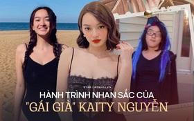 Hành trình nhan sắc của Kaity Nguyễn: Từ hotgirl ngực khủng đến ngọc nữ, lột xác ngoạn mục nhờ giảm 9kg